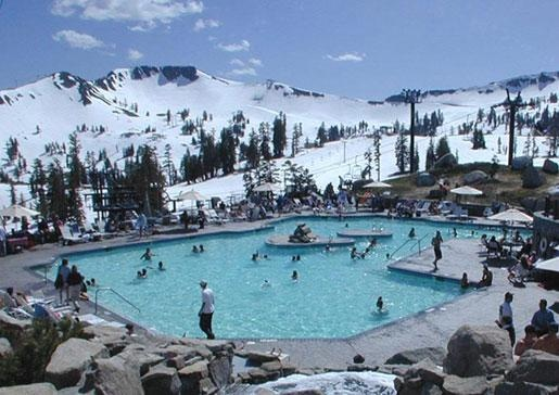 High Camp Pool Squaw Valley Nevada Pinterest