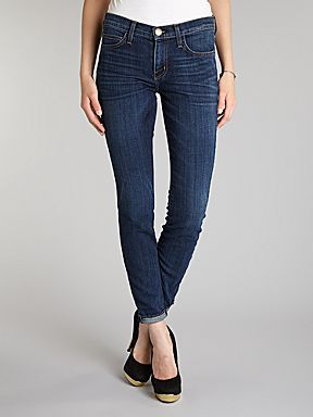 Current Elliott, Was £240 Now £120  http://www.houseoffraser.co.uk/Current+Elliott+The+Rolled+Skinny+jeans+in+Gibson/184701299,default,pd.html
