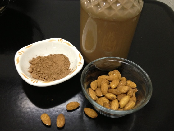 homemade chocolate almond milk | Variety for the Cook | Pinterest