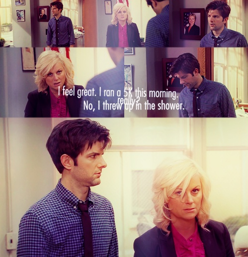 hangovers told parks recreation