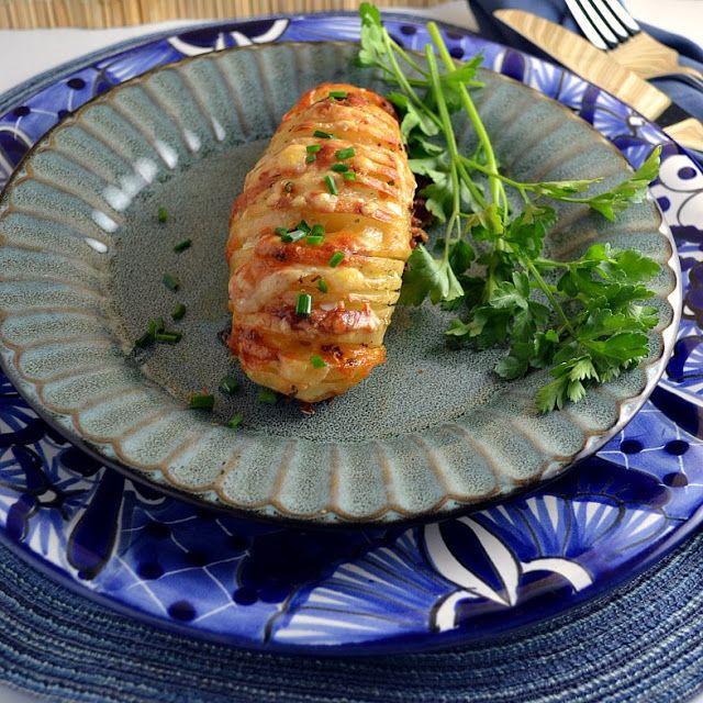 Cheese Hasselback Potatoes | Yum Yum For The Tum Tum | Pinterest