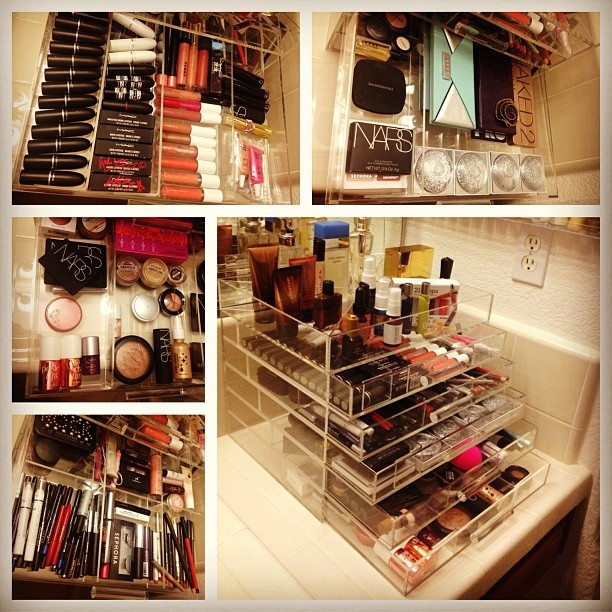 I wish my make up was as organised as this!