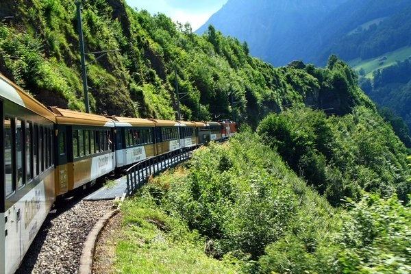 golden pass panoramic train  switzerland
