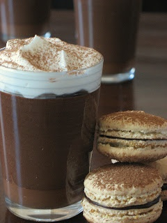 Creme Au Nutella and Macarons | Sweets | Pinterest