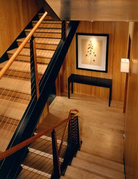 Mitchell residence modern staircase other metro poss