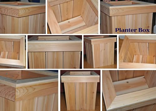 planter boxes for in front of garage | garden | Pinterest