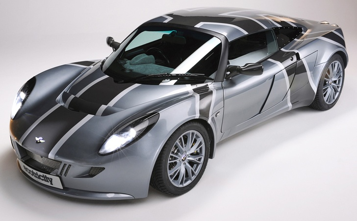 """UK´s first electric super car """"Nemesis"""" gears up to break the UK´s electric car land speed record"""