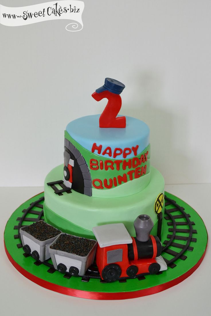 Images Of Train Birthday Cakes : Train Birthday Cake Train Party Ideas Pinterest