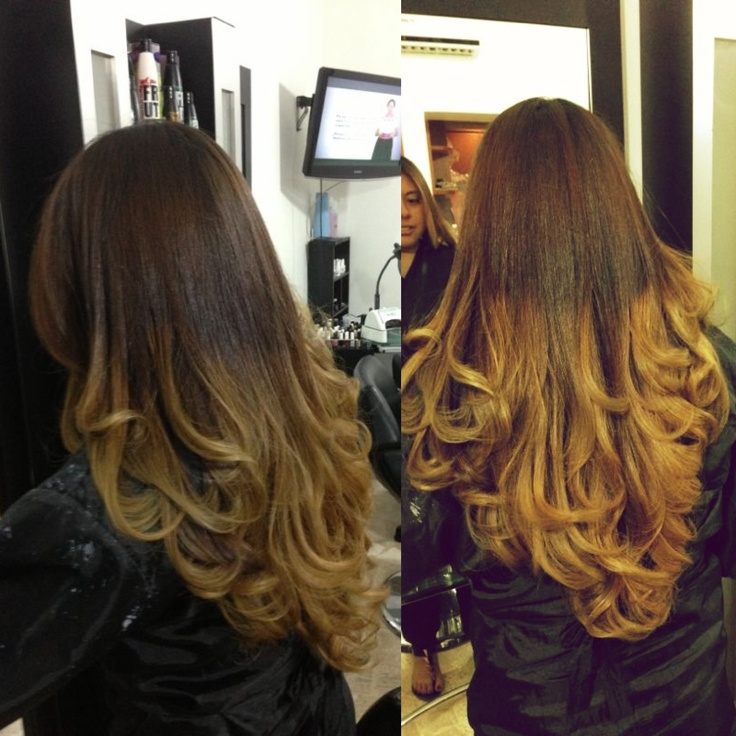 Heartthejourney Current Obsession Balayage Ombre