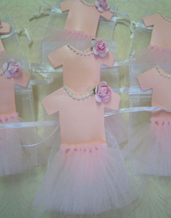 baby girl shower tutu favor bags 10 pieces by favorsbygirlybows 17