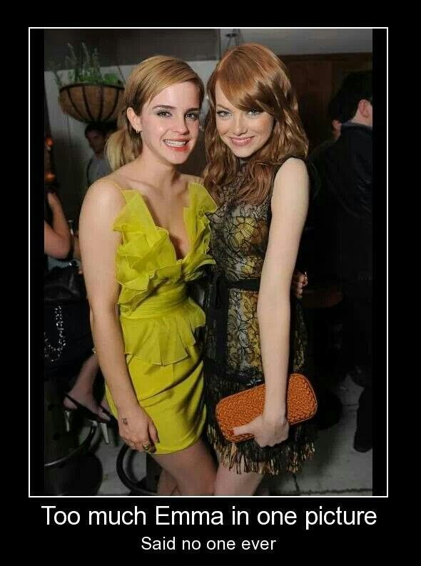 Emma Watson & Emma...