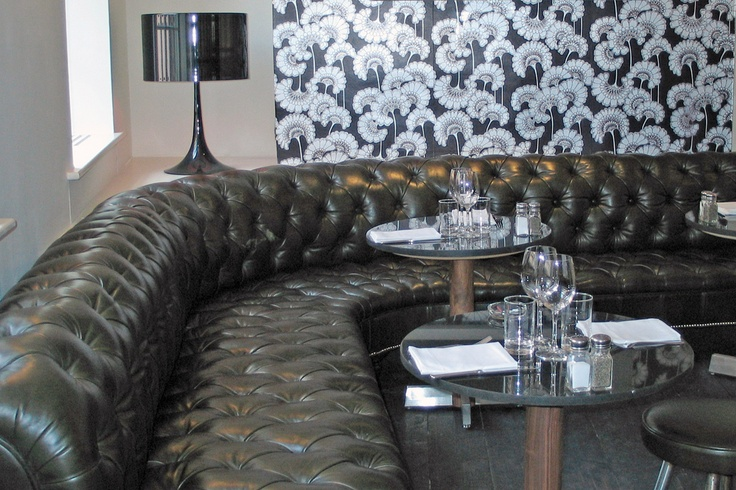 Soho house london curved chesterfield the george smith chesterfield