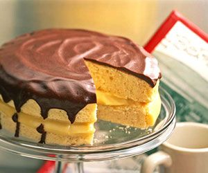 Classic Boston Cream Pie | Recipe