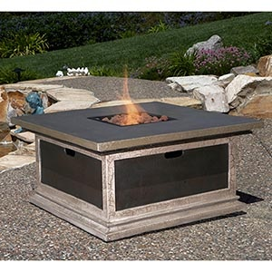 Firepit that converts to table