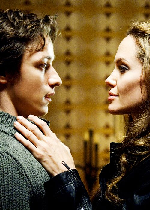 James McAvoy & Angelina Jolie in Wanted | James McAvoy ...