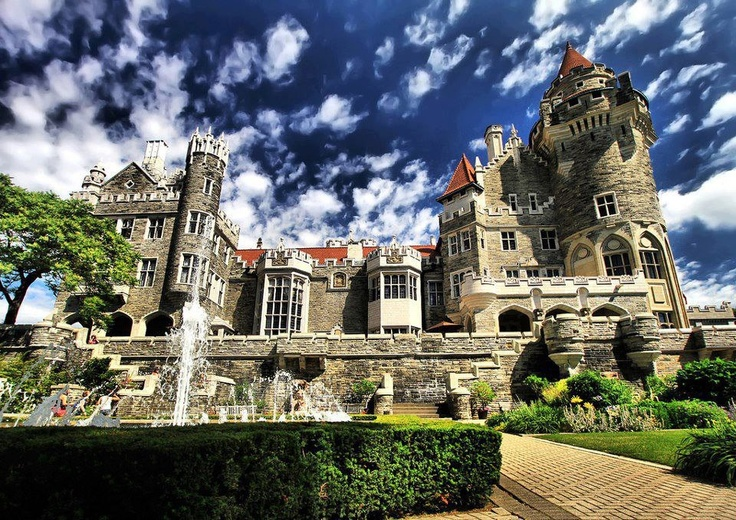 Casa loma castle toronto canada gardens mansions to for Casa loma mansion toronto