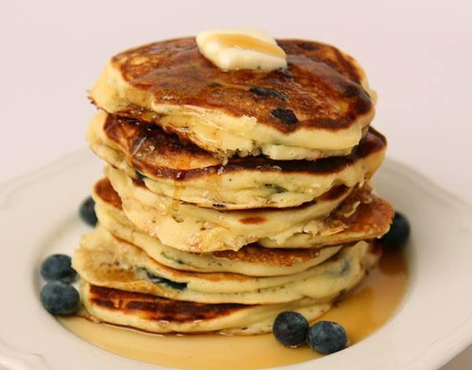 Blueberry Buttermilk Pancakes | Foodie. | Pinterest