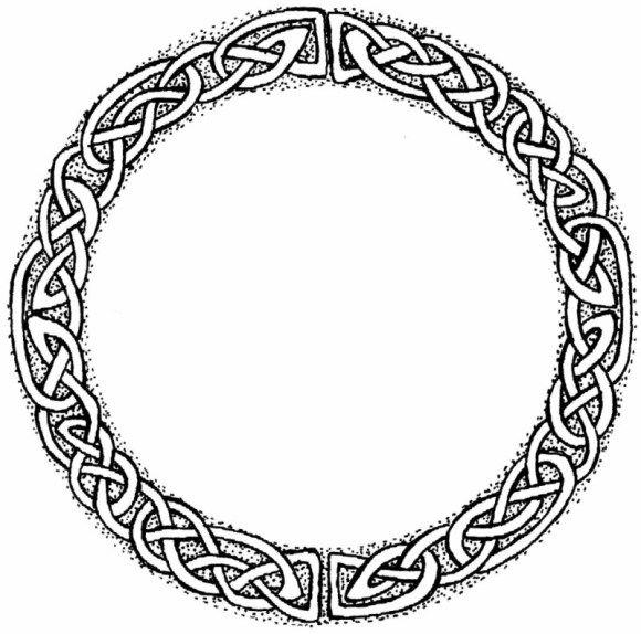 irish symbols coloring pages - photo#15