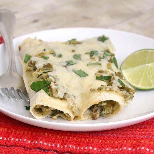 Enchiladas - 20 recipes to share (Lighter Chicken Enchiladas Verdes)
