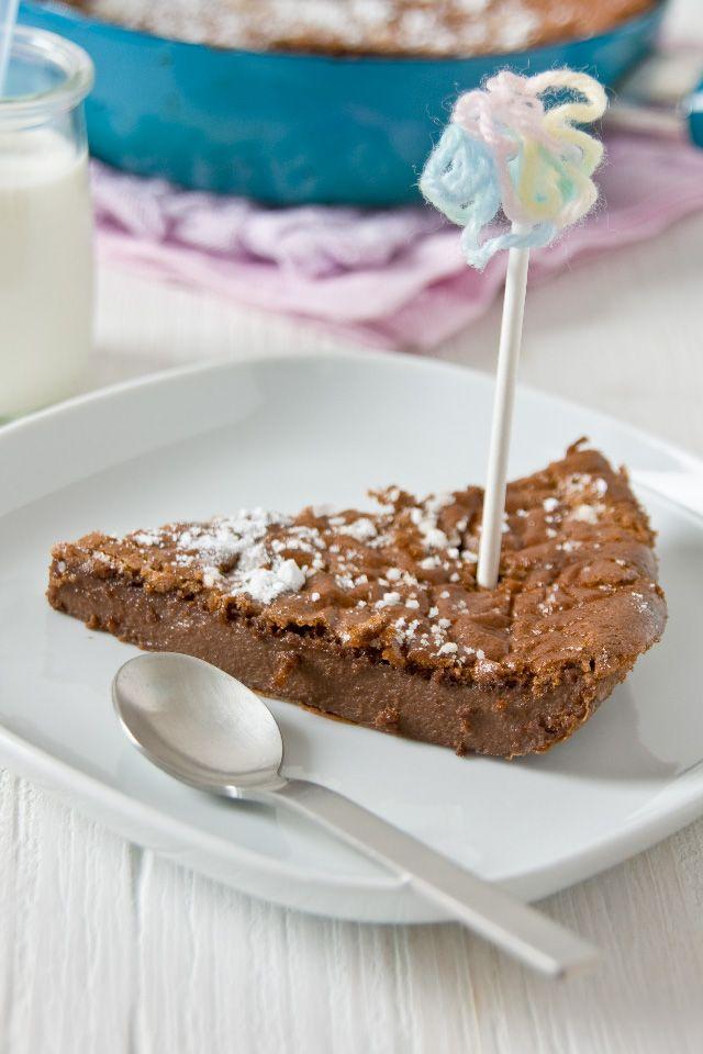 Chocolate dutch baby - #LittleCook | just eat it | Pinterest