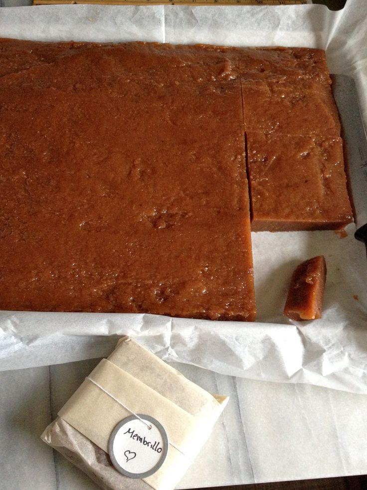 Homemade Quince Paste -- Called Membrillo in Spain via @ ...