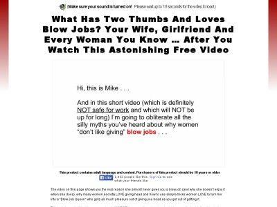best blow job video ex girlfriends