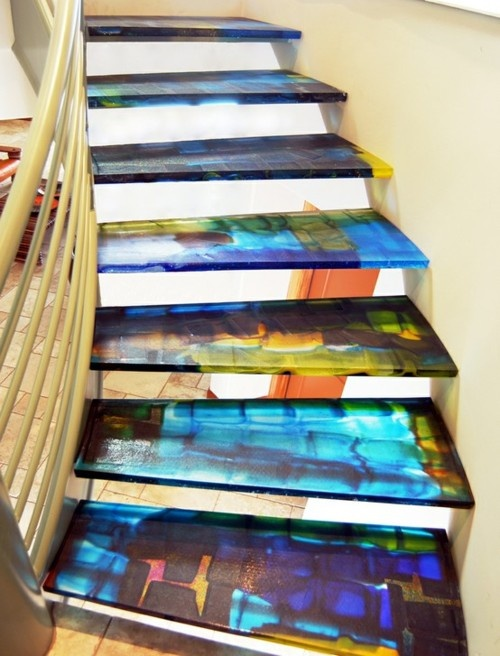 Stairs... very cool | For the Home | Pinterest