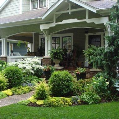 craftsman style garden gardening pinterest On craftsman style garden designs