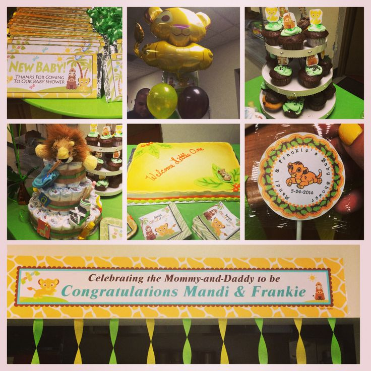 lion king themed baby shower baby shower stuff pinterest