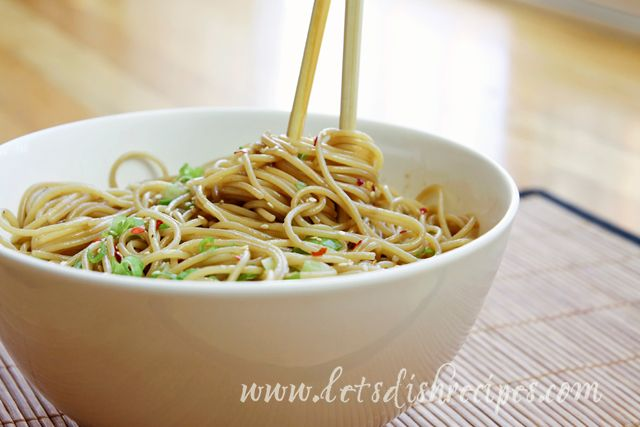 Easy Sesame Noodles on MyRecipeMagic.com | My Recipe Magic Recipe Exc ...