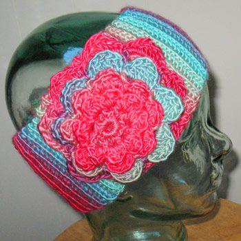 Crochet Tutorial Headband : Crochet Headband - Tutorial 4U // hf More DIY Stuff Pinterest
