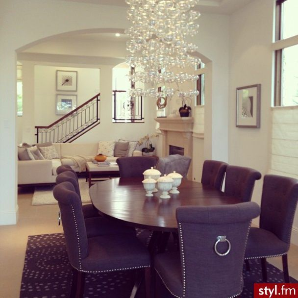 beautiful dining room dream home pinterest