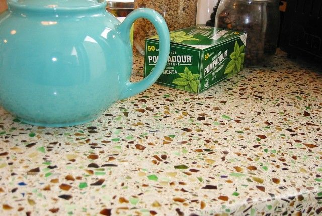 recycled glass worktop ideas for new kitchen pinterest