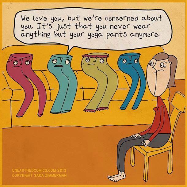 #yoga pants!