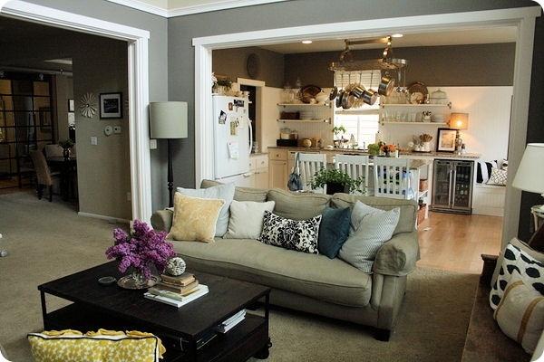 Opening between rooms | decorating | Pinterest