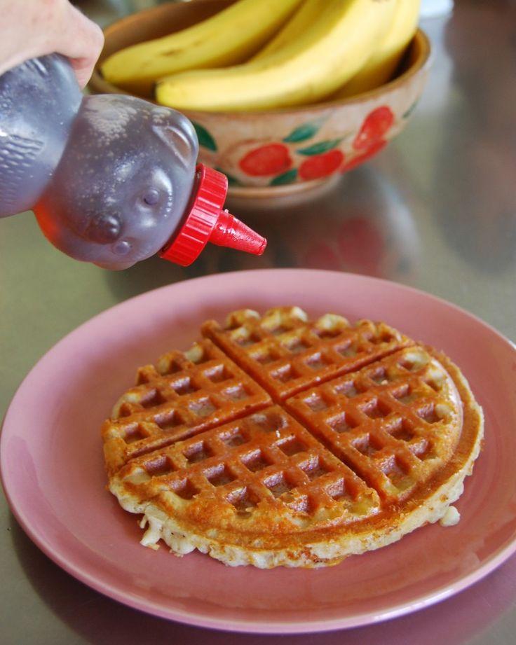 Easy Cheesy Buttermilk Waffles | Breakfast | Pinterest