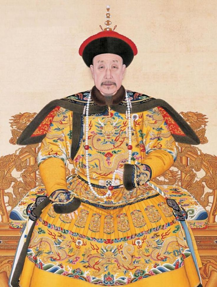 The fourth son of the Yongzheng Emperor, he reigned officially from 11 October 1735 to 8 February 1796.1 On 8 February, he abdicated in favor of his son, the Jiaqing Emperor – a filial act in order not to reign longer than his grandfather, the illustrious Kangxi Emperor.[