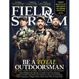 Field & Stream (1-year auto-renewal).  List Price: $47.00  Sale Price: $9.97  More Detail: http://www.giftsidea.us/item.php?id=b002ct51em