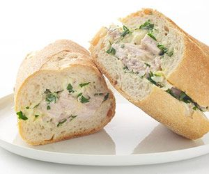 Italian Chicken Salad Sandwich   Lunch   Pinterest