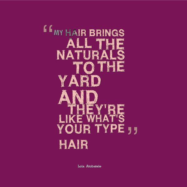 I love my natural hair quotes