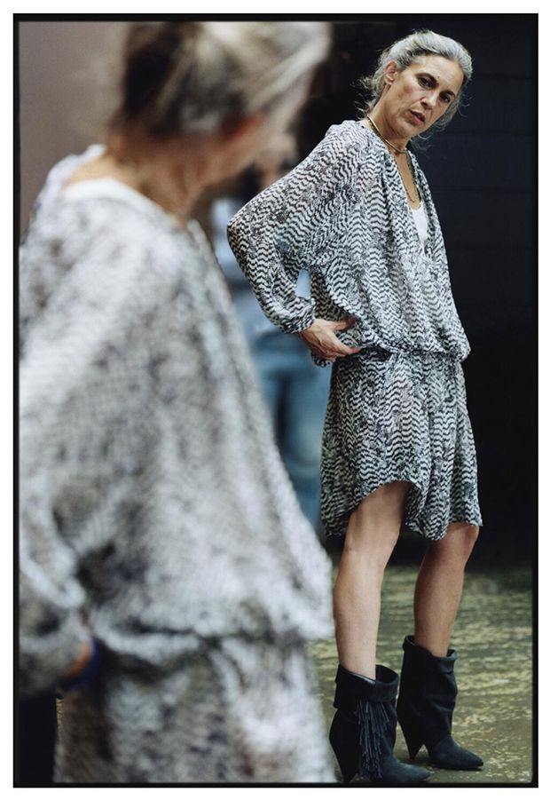 first peek at Isabel Marant's line for H & M (yes, please!!) avail. November 14th