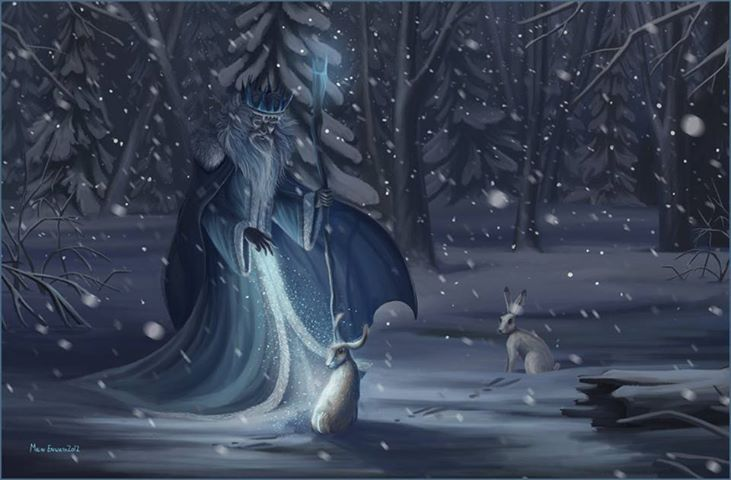 Winter Wizard and Buns | Yule/Winter Solstice | Pinterest