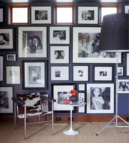 Modern Photo wall - Jennifer Delonge