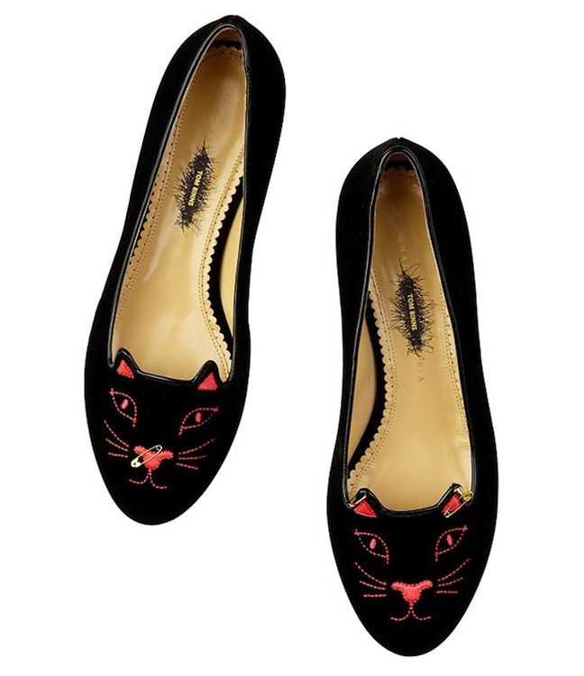 The Terrier and Lobster: Charlotte Olympia X Tom Binns Punk Collection