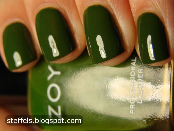 """Zoya Shawn - perfect description: It's murky and swampy and it's got that whole """"algae infested pond water"""" thing going on."""