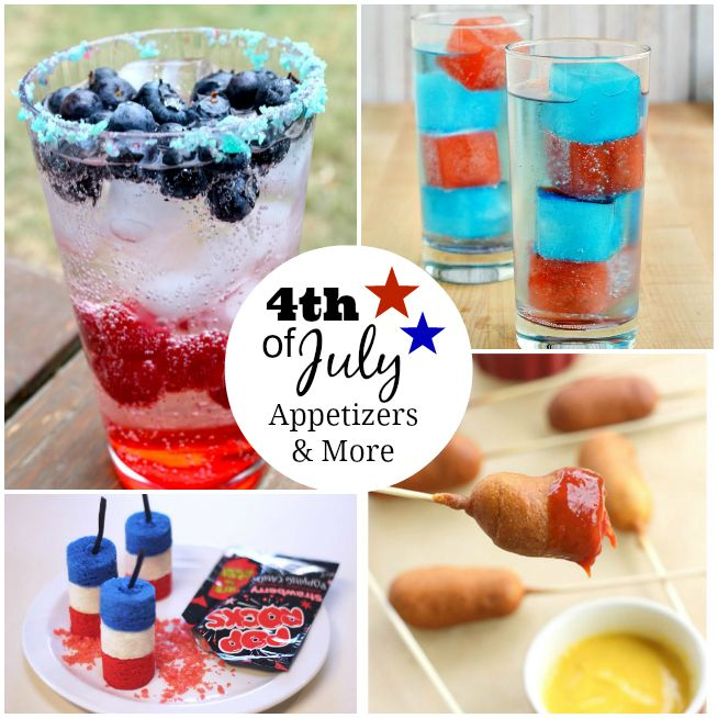 4th of july appetizers and desserts