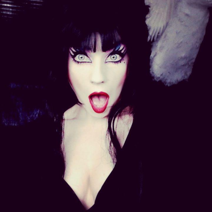 cosplay  Elvira makeup  Halloween costume  Halloween makeup ideasElvira Costume Ideas