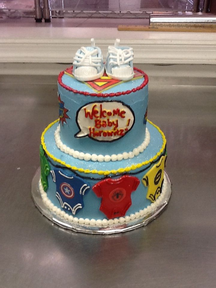 pin superhero baby shower cake flickr photo sharing cake on pinterest