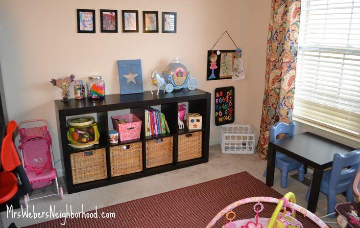 Playroom office combo playroom ideas pinterest - Playroom office ideas ...