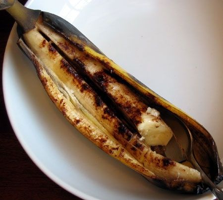 My personal Diet Baked Banana Recipe -- bake the bs for 25 mins, just ...